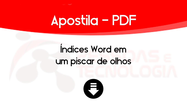 apostilaword
